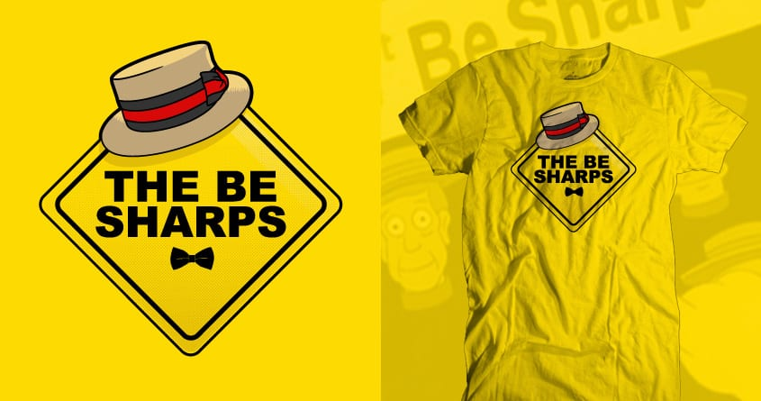Be Sharps on Board by FRICKINAWESOME and Papaprime on Threadless