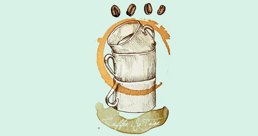 Coffee, Je T'aime  by suzieshin on Threadless