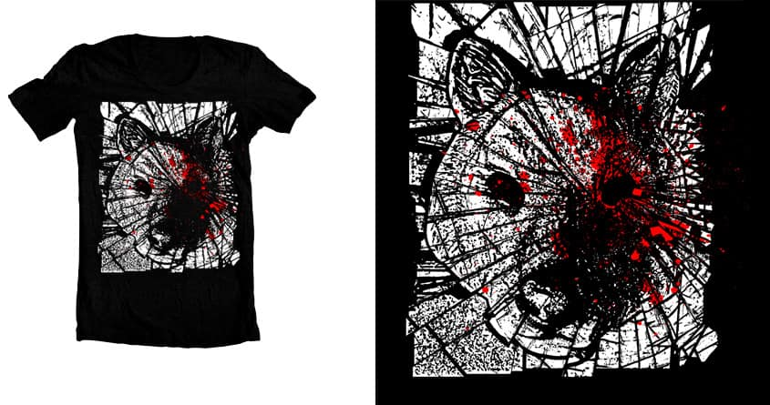 shattered  by patricksparrow on Threadless