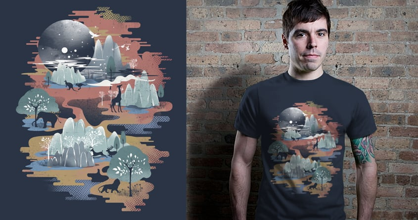 Middle of Nowhere 2 Redux by dandingeroz on Threadless
