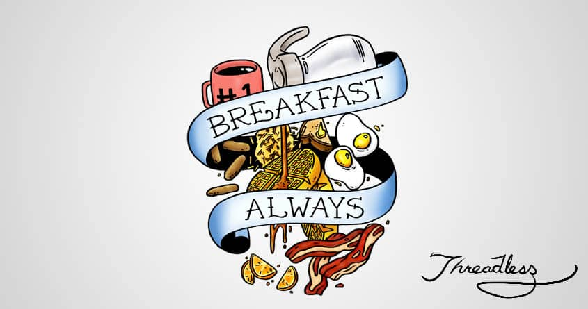 A Hardy Breakfast by mike bautista and Orbanya on Threadless