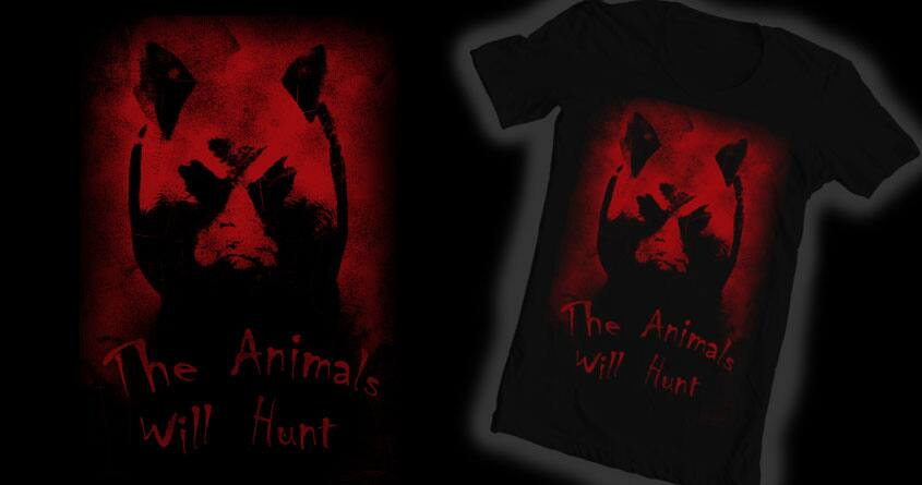 The Animals Will Hunt... by BC_Arts on Threadless