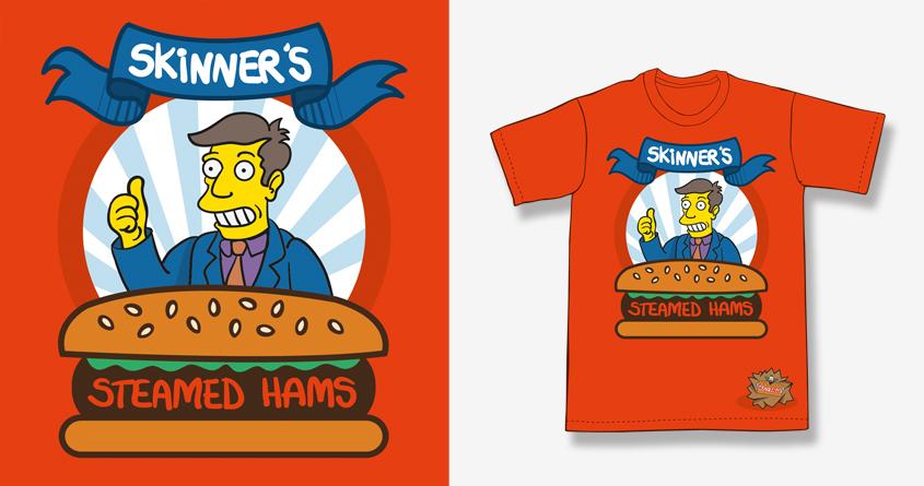 Skinner's Steamed Hams by javoo827 on Threadless
