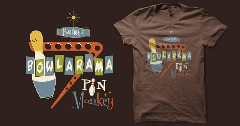 Barney's Bowlarama by stevethomasart on Threadless