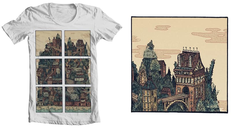 Mountain by Anloma on Threadless