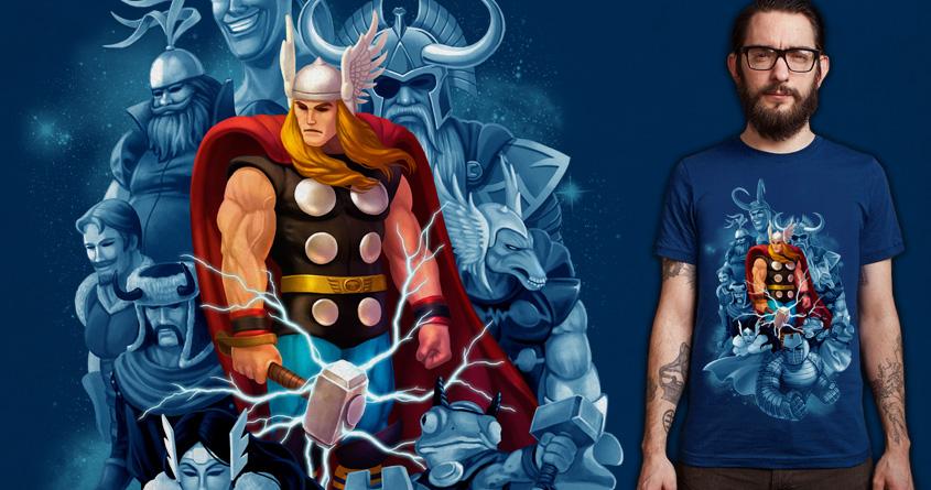 Thor Mythology by ben chen on Threadless