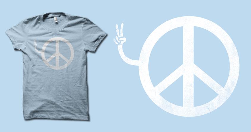 Peace, Yo. by biotwist on Threadless