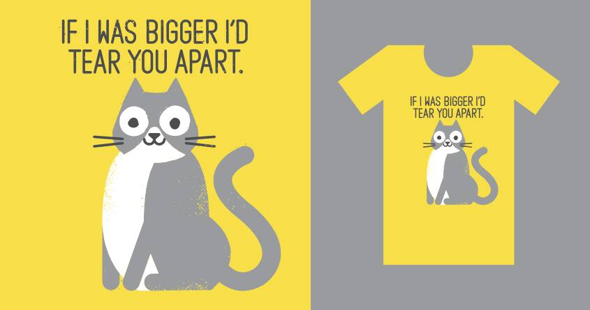Purrfectly Honest by DRO72 on Threadless