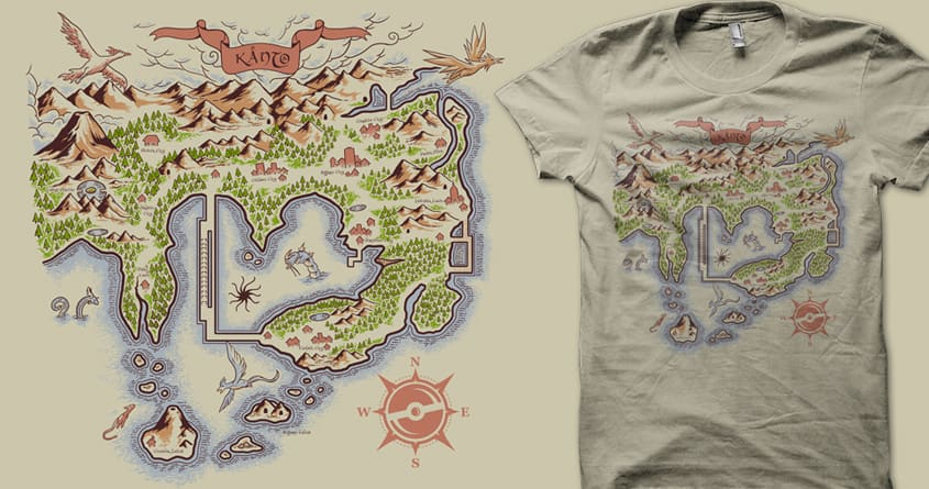 Kanto-Earth by Melee_Ninja on Threadless