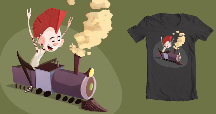 Steam Punk by grizzlyslippers on Threadless