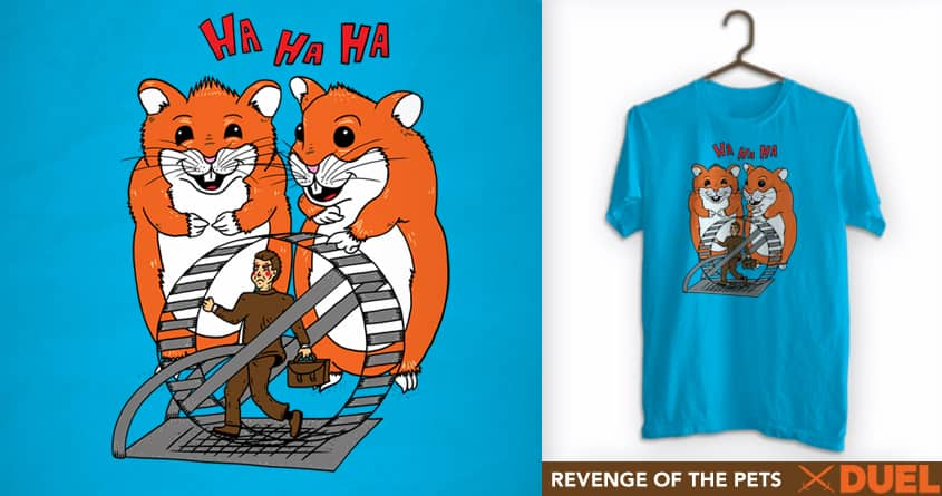 Revenge of the Pets by SteveOramA on Threadless