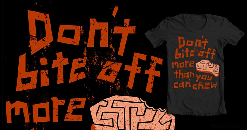 Zombie Advice by NomadSlim on Threadless