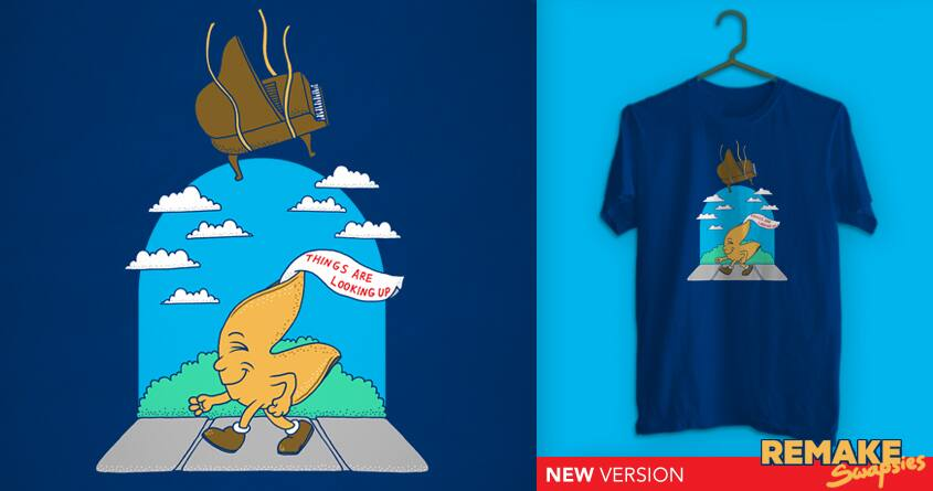Misfortune Cookie 2 by SteveOramA and BeanePod on Threadless