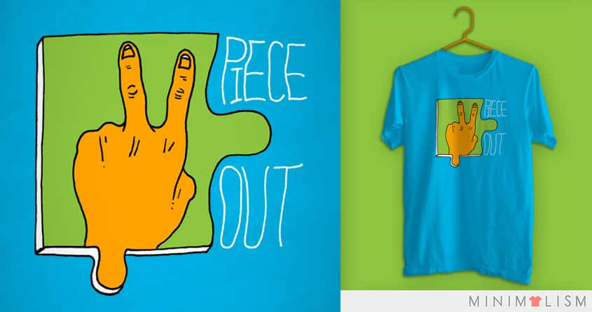 Piece Out by SteveOramA on Threadless