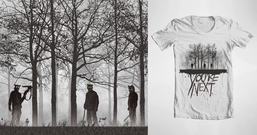 There's Something Out There by Hey D on Threadless
