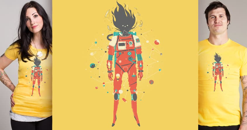 The Cosmostronaut MKII by fightstacy on Threadless