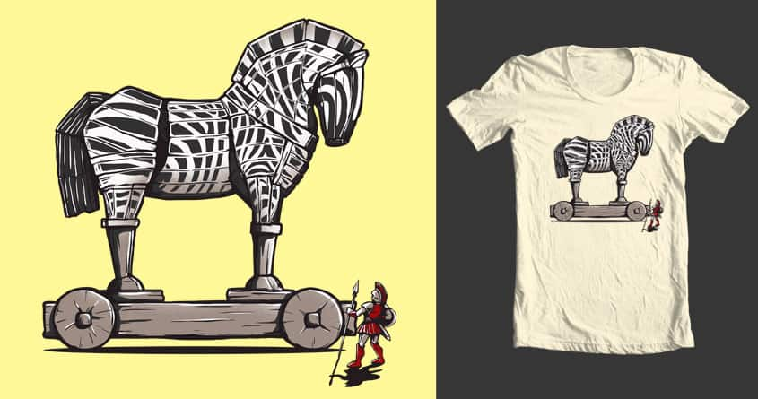 trojan horse? by santoy on Threadless