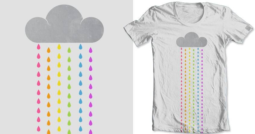 Rainbow Drops by goliath72 and mip1980 on Threadless