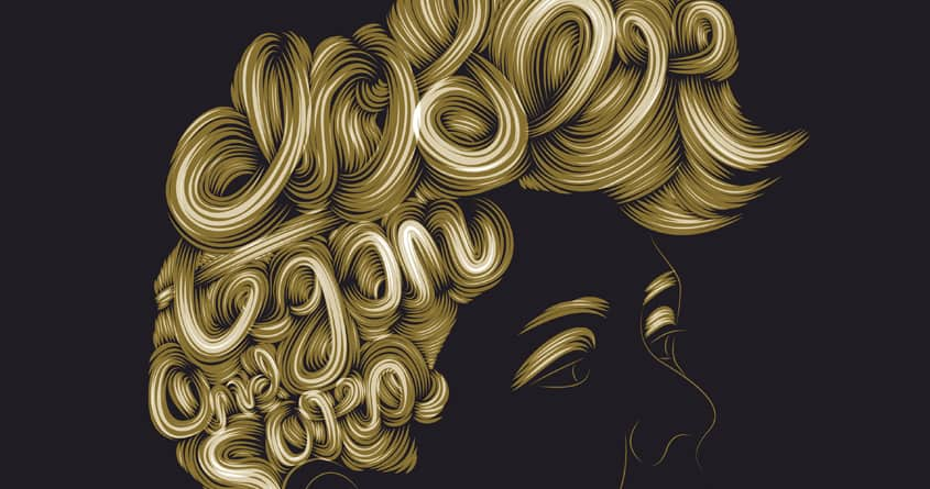 Hairstyle by Patrick Seymour on Threadless