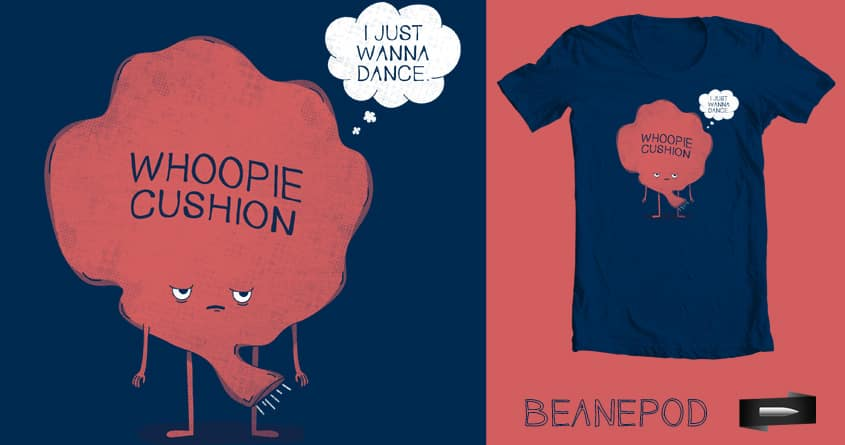 Whoopless Cushion by BeanePod on Threadless