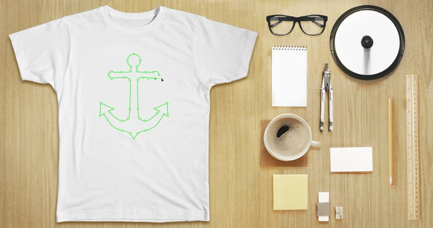 Anchor Points by hisartwork on Threadless