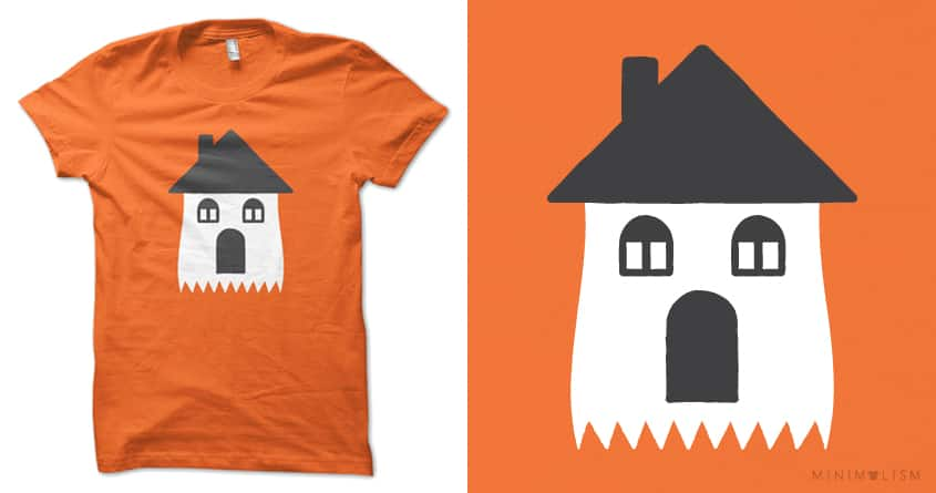 Haunted House by lunchboxbrain on Threadless
