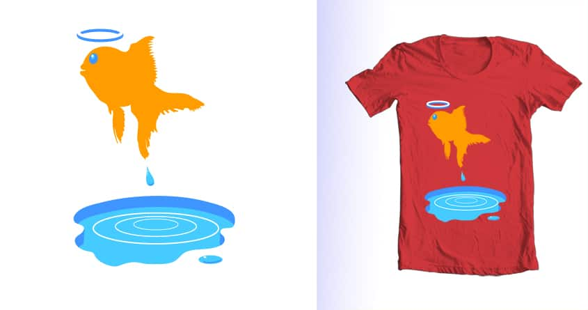 Big Fish. Small Pond. Fatal Career Move. by MrPortland on Threadless