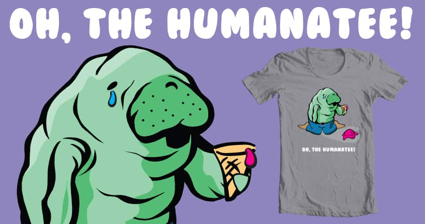 The Humanatee by apeihuc and scafuridesigns on Threadless