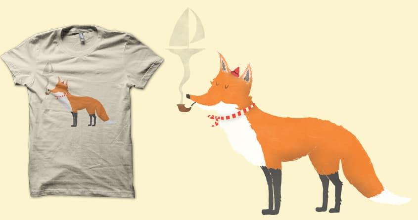 First Mate Fox by coyote_alert on Threadless