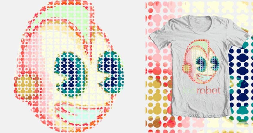BubbleBot by Kat Phillips on Threadless