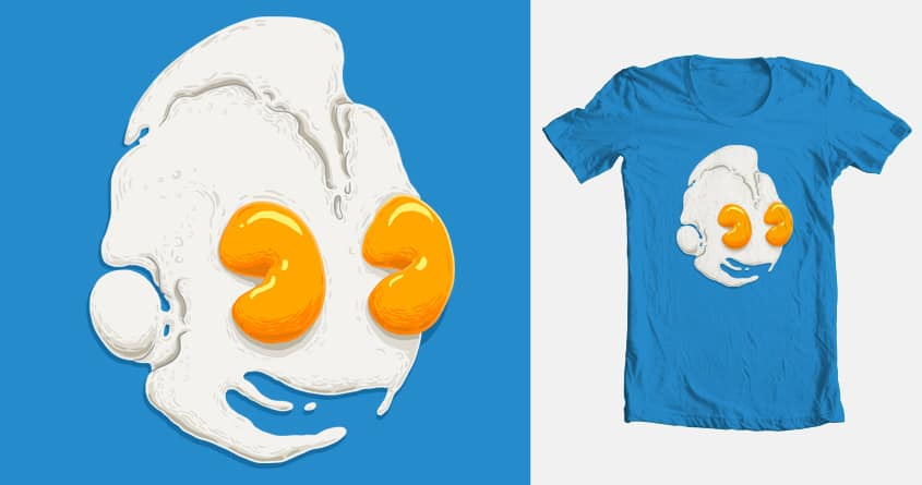 Eggrobot by biernatt on Threadless