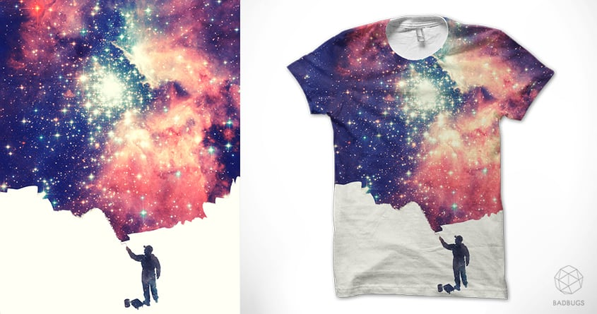 Painting the universe by badbugs_art on Threadless