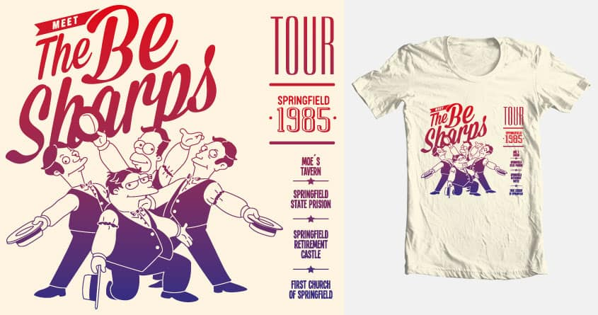 Meet The Be Sharps Tour by karla.godinez.102 and OmallyRepper on Threadless