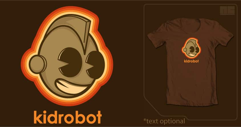 Retrobot by NCowick on Threadless
