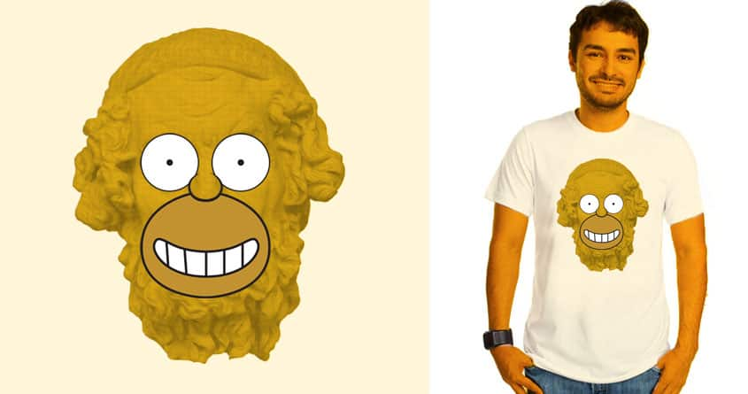 Homer's Odyssey  by Wharton on Threadless