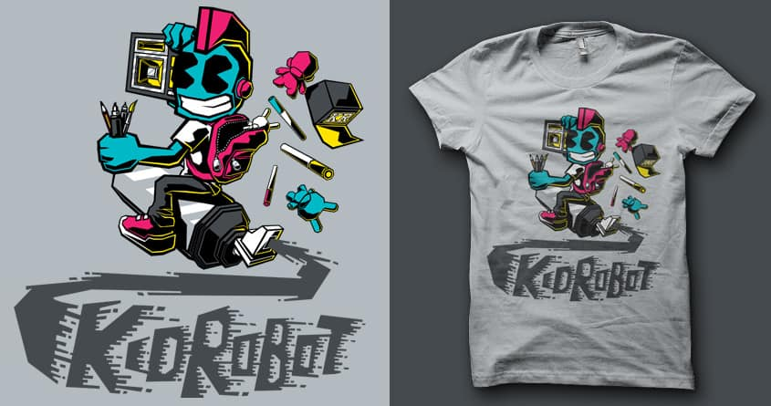 Sky Rocket ! by MEKAZOO on Threadless