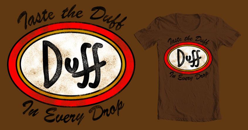 Taste the Duff! by BC_Arts on Threadless