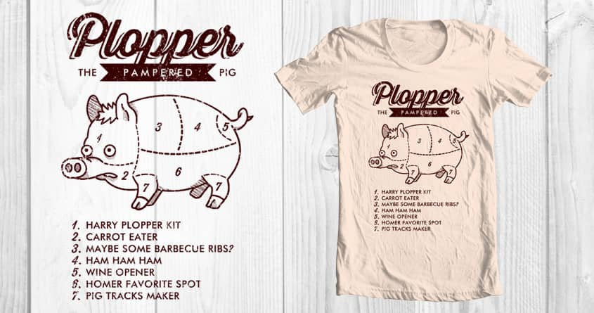 Score Pig Butcher Diagram By Normandia On Threadless