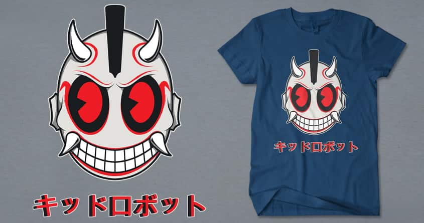 Oni Kiddo Robotto by Doodle by Ninja! on Threadless