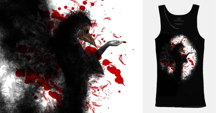 Plague Doctor by mgarfin on Threadless