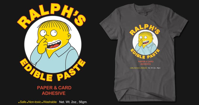 Ralph's Edible Paste by Doodle by Ninja! on Threadless