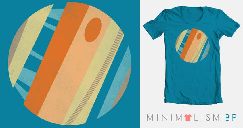 Cross Sections of a Solar System by BeanePod on Threadless