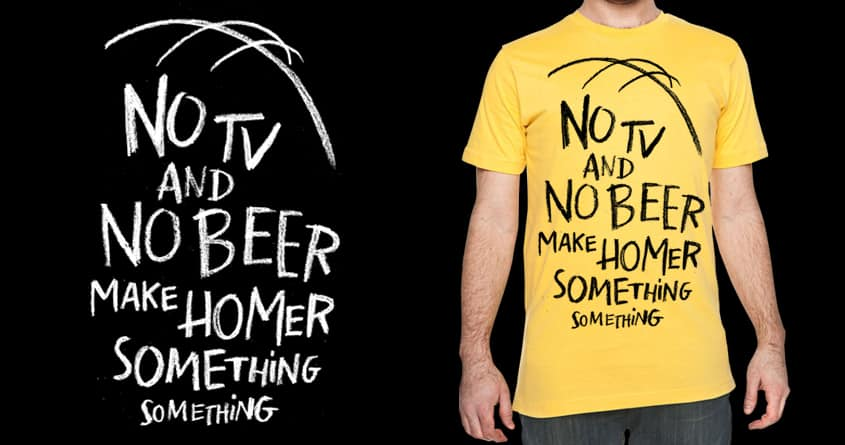 Something Something by FRICKINAWESOME and WEAREYAWN on Threadless