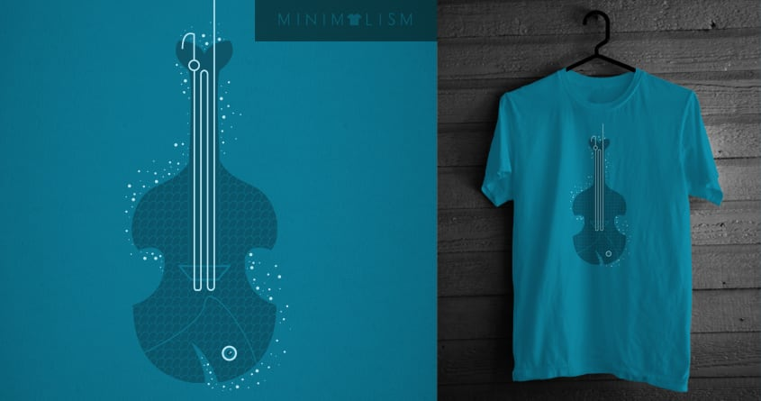 Bass Line by JIMDAHOUSECAT on Threadless