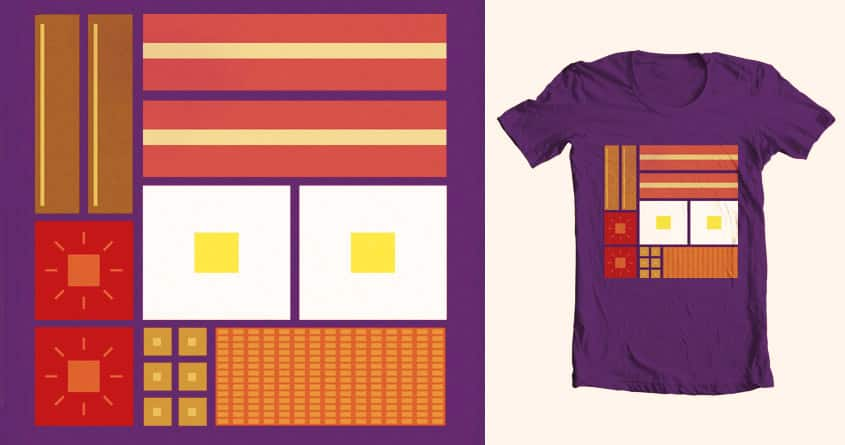 Square Meal by Gar0 on Threadless