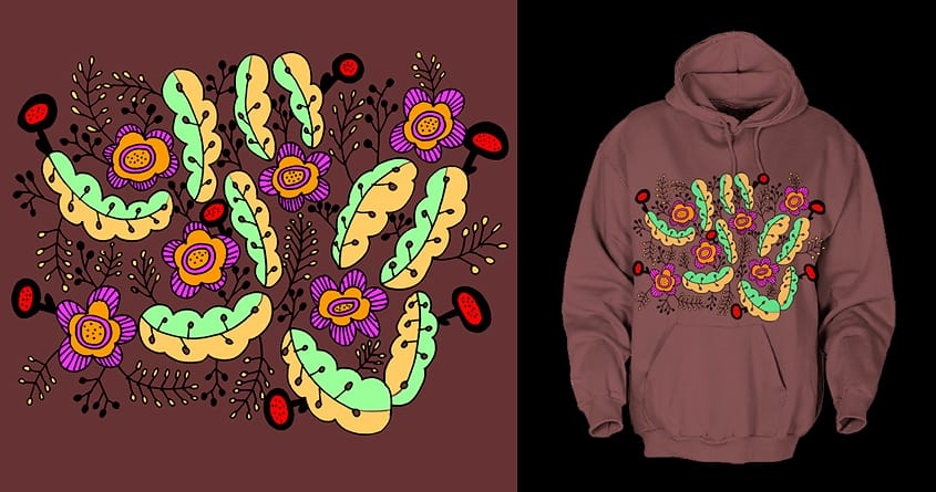 flowers by Susan Wagon on Threadless