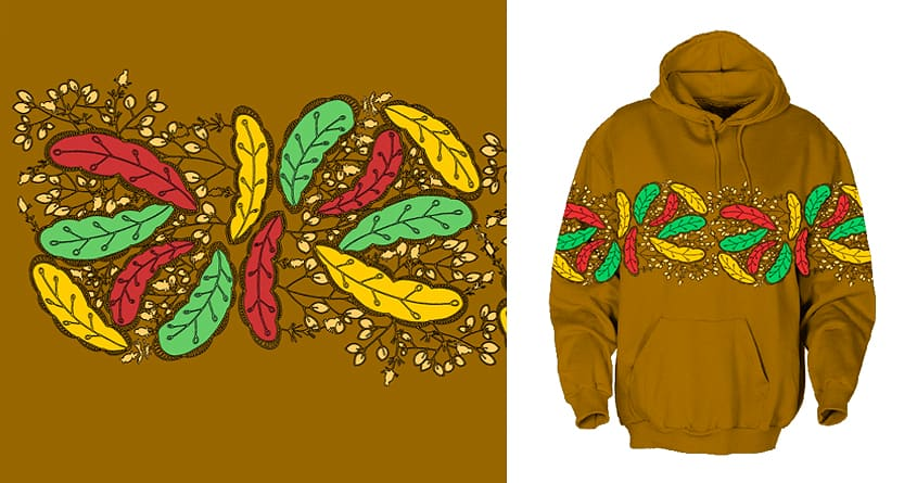 colour leaves by Susan Wagon on Threadless