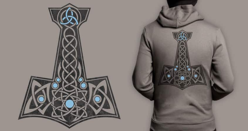 Celtic Thor's Hammer by conceptart12 on Threadless