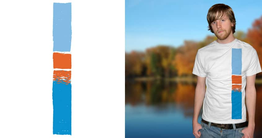 Lake in the Fall by bortwein on Threadless