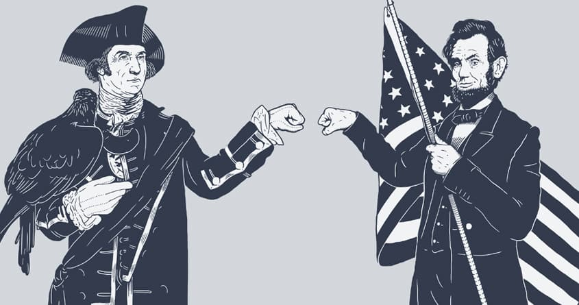 Fist Bump for Liberty by melmike on Threadless